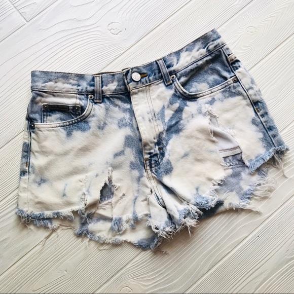 Calvin Klein Jeans Pants - CK Destroyed Denim Shorts